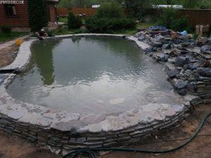 Строительство пруда для купания