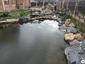 Искусственный водоём в Краснодаре