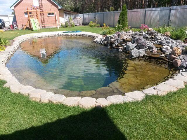 Искусственный водоём для купания