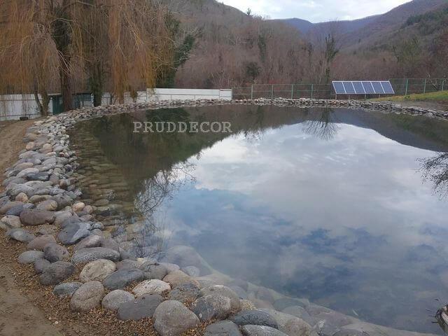 Цена строительства пруда в Краснодаре и Крыму. пруд в дивноморске