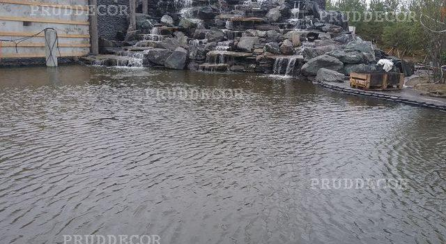 Водопад - высота 5,5 м в Краснодарском крае и Крыму