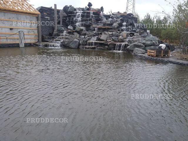 Водопад искусственный — высота 7 м в Краснодарском крае