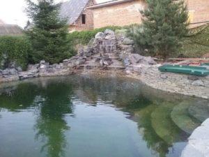 Плавательный пруд в Крыму и Краснодарском крае