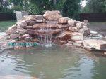 строительство водопада. Водопад под ключ