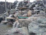Водопад искусственный - высота 7 м