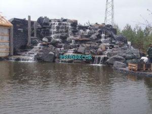 Цена - Водопад из природного камня в Краснодарском крае и Крыму