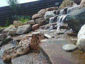 Строительство водопадов в Краснодарском крае