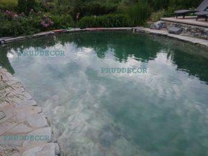 пруд для купания с биоплато в краснодаре