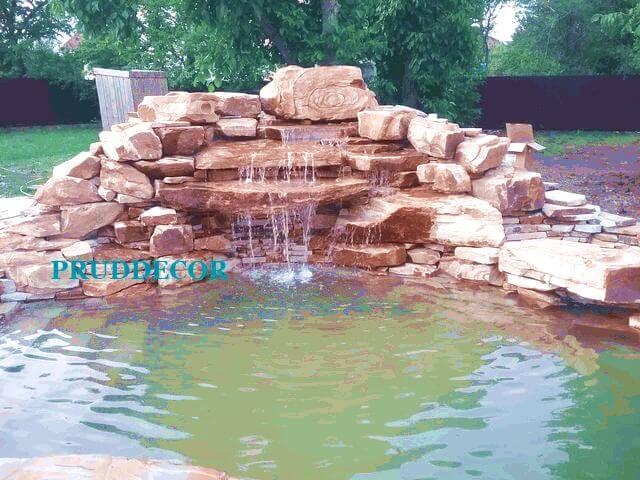 строительство водопада в краснодаре и крыму