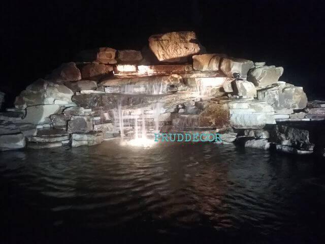 водопад под ключ в Краснодаре и крыму