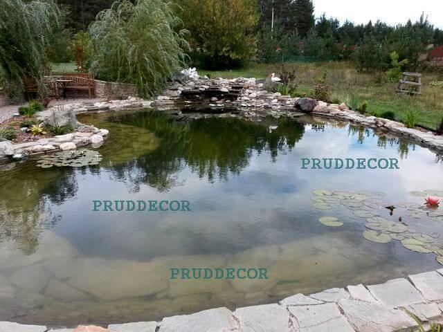 Цена строительства пруда в Краснодаре и Крыму. декоративный пруд - цена в краснодаре