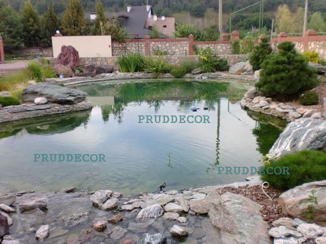 Цена строительства пруда в Краснодаре и Крыму. биопруд под ключ