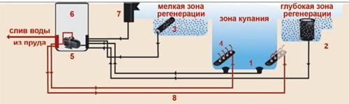биопруд - схема