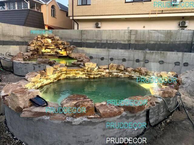 каскад прудов с водопадом (45)
