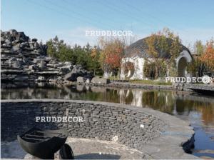Декорирование пруда в Краснодаре