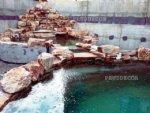водопад и пруд для рыб в Анапе