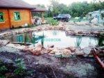 Биопруд с ручьём в Краснодаре