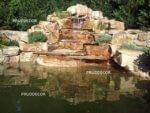 фото пруда с водопадом