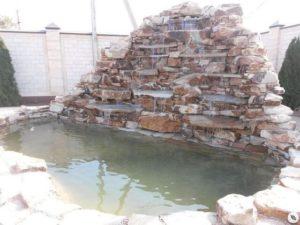 Строительство водопада под ключ от 100 000 руб.